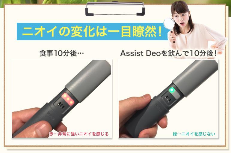 アシストデオ(Assist Deo) 効果・効能